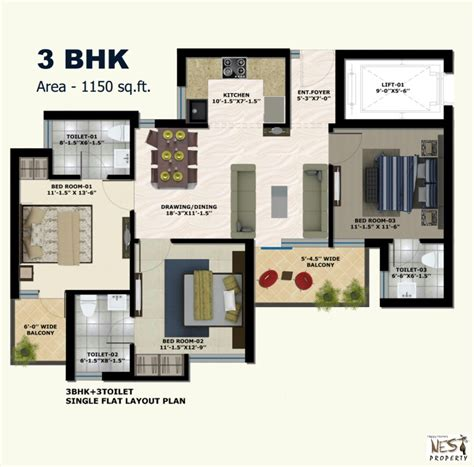 The Address Mullanpur  2 Bhk Flats In New Chandigarh @ 27