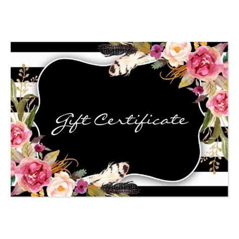 ideas  gift certificate templates