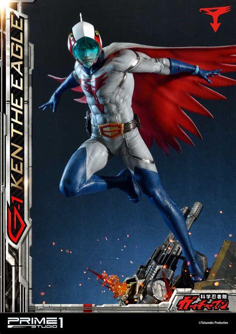 gatchaman ken  eagle statue  prime  studio  toyark news