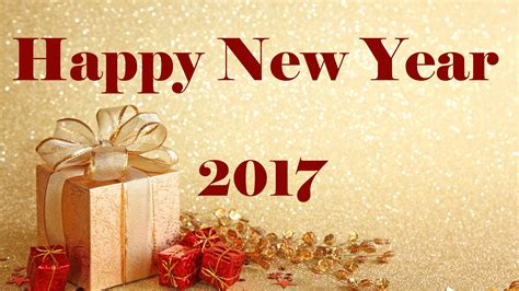 Wallpaper Happy New Year, 2017, 4k, Celebrations / New