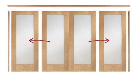oak easi  room divider door system