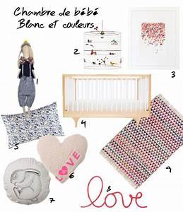 pourquoi pas du blanc pour la chambre de bebe With affiche chambre bébé avec housse de couette fleurie la redoute