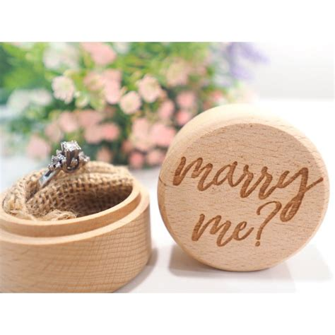 marry me proposal ring holder wedding prop singapore