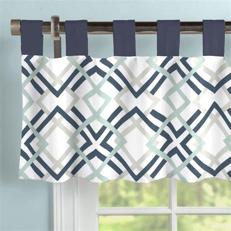navy and white rugs navy and gray geometric window valance tab top carousel