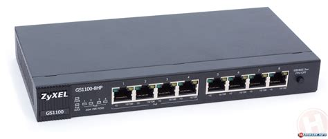 12 switch test 8 ports poe lacp