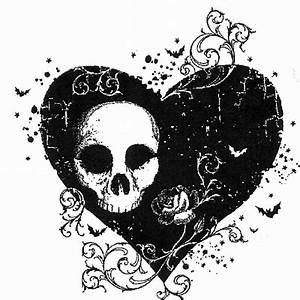 Gothic heart - 6 x 6? cm
