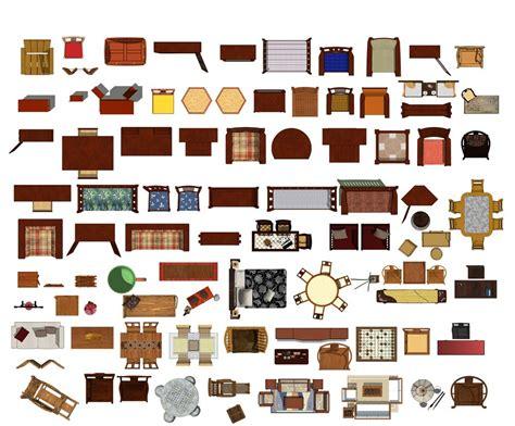 photoshop psd chinese furniture  autocad blocks