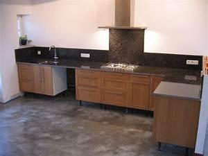 cuisines pierre de taille plan de travail et sol pierre With pierre pour plan de travail cuisine