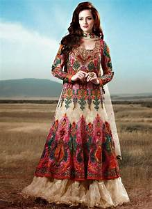 fashion glamour world latest stylish heavy embroidery With new wedding dress indian