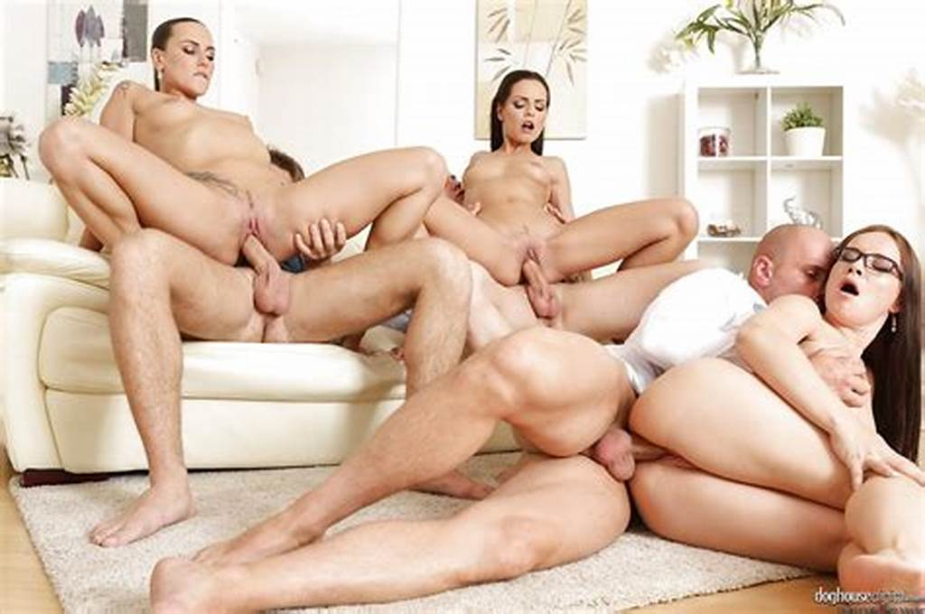 #Hot #Chick #In #Glasses #Rides #Cowgirl #In #Rough #Anal #Groupsex