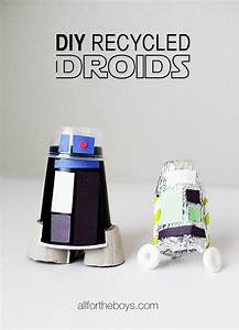 Star Wars Diy : diy recycled droid craft boys blog diy recycle and star ~ Orissabook.com Haus und Dekorationen