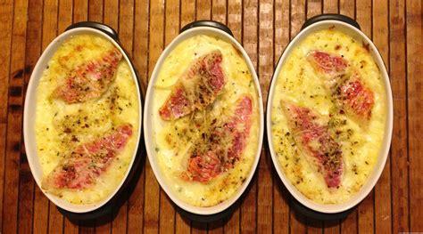 recette de cuisine pour le soir parmentier au rouget