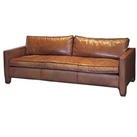 modern sleek sofa designs comfortable modern and sleek calfskin leather three seat