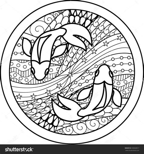 images  zodiac coloring pages  adults