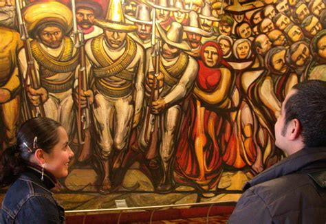 David Alfaro Siqueiros Murals by Happy Birthday To Great Mexican Muralist David Alfaro