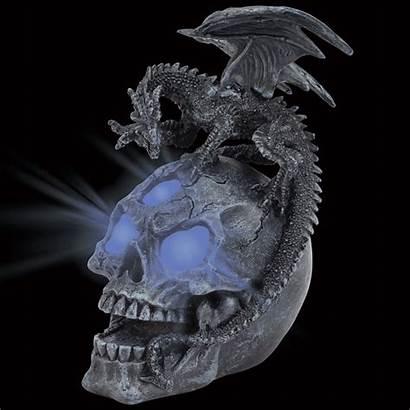 Dragon Skull Led Statue Offer