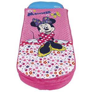 minnie mouse ready bed bedding readybed new sleeping bag solution disney ebay