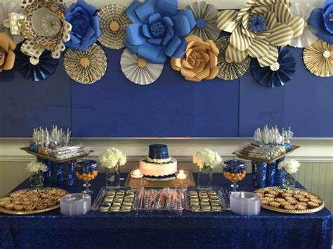 royal blue table decorations very elegant our family styled seating reception table our