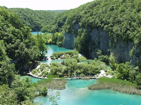 Croatia National Parks Np Plitvice Lakes Tourist Information