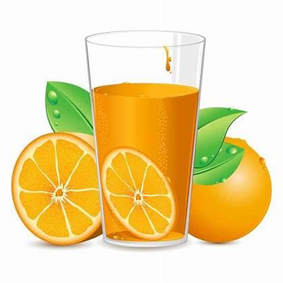 Juice Orange Vector Clipart Graphics Vectors
