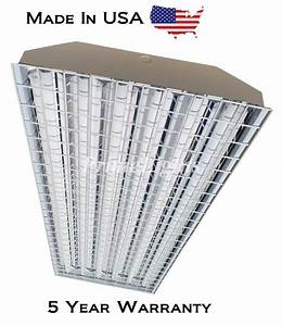 6lamp T5 Ho High Bay Fluorescent Light Fixture With