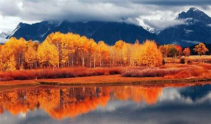 Fall Scenery Mountain Computer Autumn Wallpapers Android