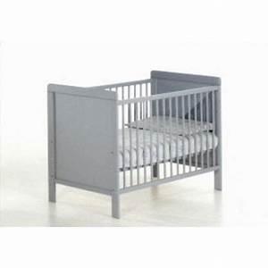 Lit Bebe Gris : lit barreaux hugo gris gris achat vente lit b b 3700711461035 cdiscount ~ Teatrodelosmanantiales.com Idées de Décoration