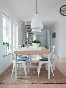 la salle a manger scandinave en 67 photos archzinefr With salle À manger contemporaine avec tapis rose scandinave