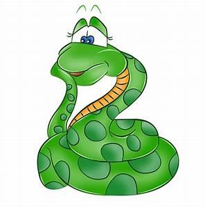 Funny Cartoon Snake clipart - Snake Animals clip art ...