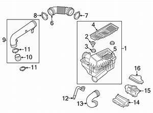 Volkswagen Jetta Gli Engine Air Intake Hose  1 8 Liter  2