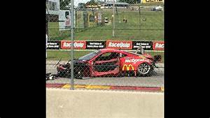 Insane 160mph Ferrari 458 Crash At Road America 2015  Spectator View