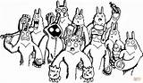 Yeti Coloring Doodle Colorare Kolorowanki Printable Coloriage Druku Kolorowanka Template Disegni Disegno Racconta Designlooter Coloriages Griffonnage Gratuits Imprimer Sketch Dessin sketch template