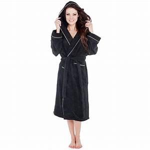 Bademantel Frottee Damen Kapuze : bademantel morgenmantel sauna wellness spa frottee kapuze damen herren arizona ebay ~ Watch28wear.com Haus und Dekorationen