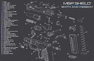 Smith And Wesson M U0026p Shield Rubber Adhesive Grips For