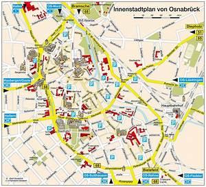 Berlin Ulm Bus : stadtplan von osnabr ck detaillierte gedruckte karten von osnabr ck deutschland der ~ Markanthonyermac.com Haus und Dekorationen