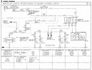 1991 Mazda B2600i Wiring Diagram  Turn Signal  Hazard Flasher  Reverse Lights