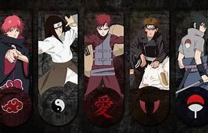 Wallpaper Naruto Shippuden, Sasuke, Neji, Naruto ...