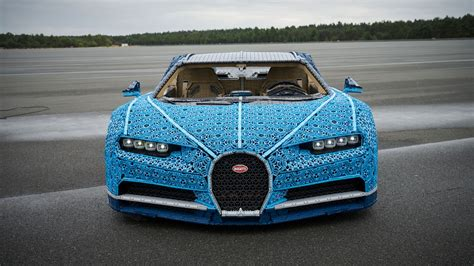 But what about a lego bugatti chiron made from lego pieces? Lego built a life-size Bugatti Chiron you can drive   CAR Magazine