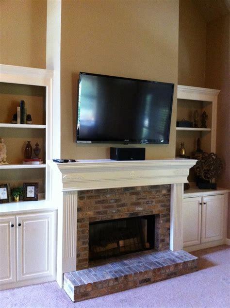 fireplace tv install 1