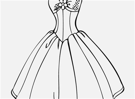 Dress Coloring Pages Coloring Pages Printable Dresses Coloring Pages At Getcolorings