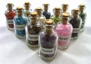 Use To Make Gem Elixir But Mini Bottle With Crystal Chips