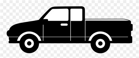 library  pickup truck vector   png files clipart art