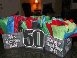 Man 50th Birthday Party Ideas