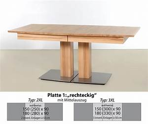 Säulentisch Eiche Massiv Ausziehbar : esstisch s ulentisch 150 x 90 ausziehbar eiche massiv ge lt woody pictures to pin on pinterest ~ Bigdaddyawards.com Haus und Dekorationen