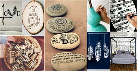 diy cool collection  doodle inspired art decor   home