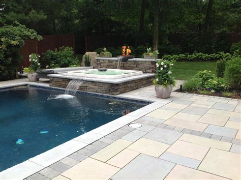 pool patio and spa set 2016 outdoor living trends soothing colors go yard wide