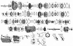 Ford A4ld Transmission Parts Diagram  Ford  Auto Parts