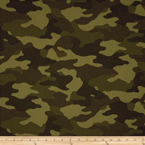 Camouflage Upholstery Fabric by Kaufman Sevenberry Flannel Camouflage Camouflage