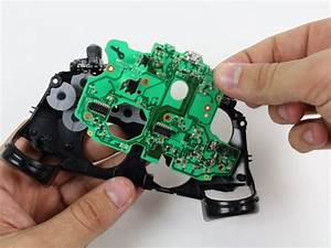 Xbox One Wireless Controller Bottom Motherboard