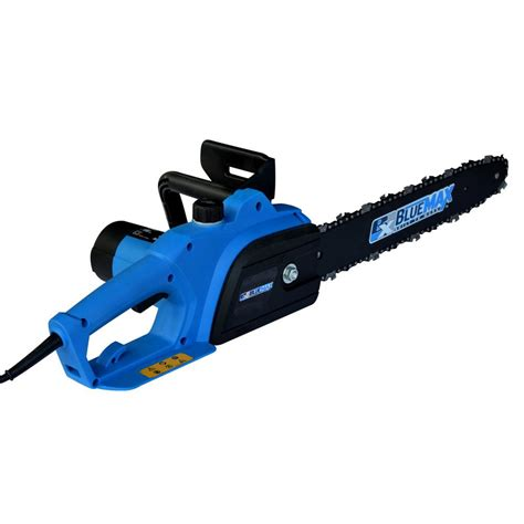 blue max    amp electric chainsaw   home depot